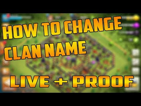 How To Change CLAN NAME | Clash Of Clans | Cocwithaj