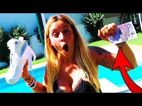 CASI ME QUEDO SIN OJO!! BILLETE DE 500€ VS SPRAY IMPERMEABLE