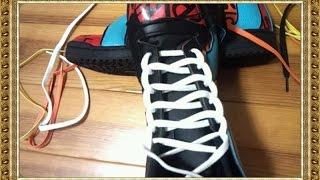 靴ひもの結び方を工夫して、スニーカーをオシャレにアップグレードしましょ♪