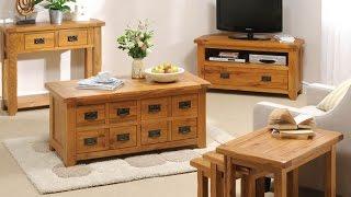 Creative Idea Rustic Oak Furniture