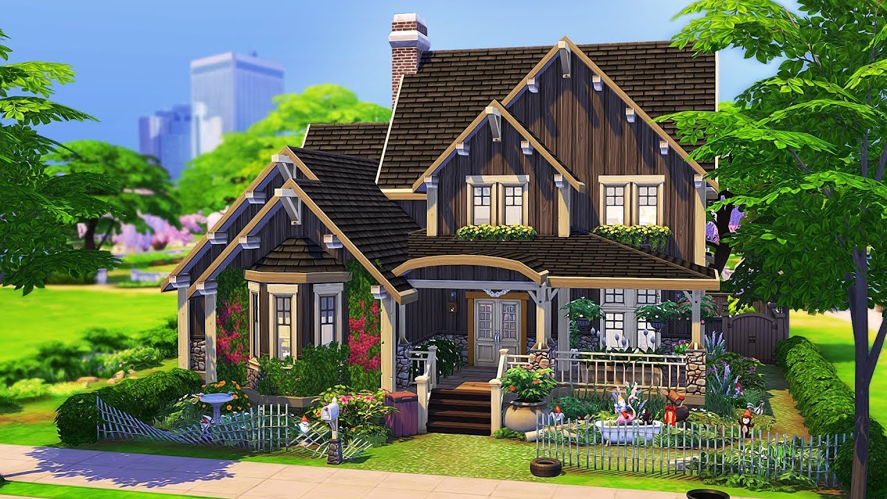 THE MESSIEST FAMILY HOME   The Sims 4   Speed Build