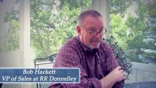 Bob Hackett, Sales VP R.R. Donnelley: the power of Samurai Professional Sales Management Development