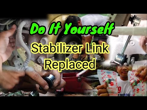 HOW TO REPLACE STABILIZER LINK OF SUZUKI APV, DO IT YOURSELF