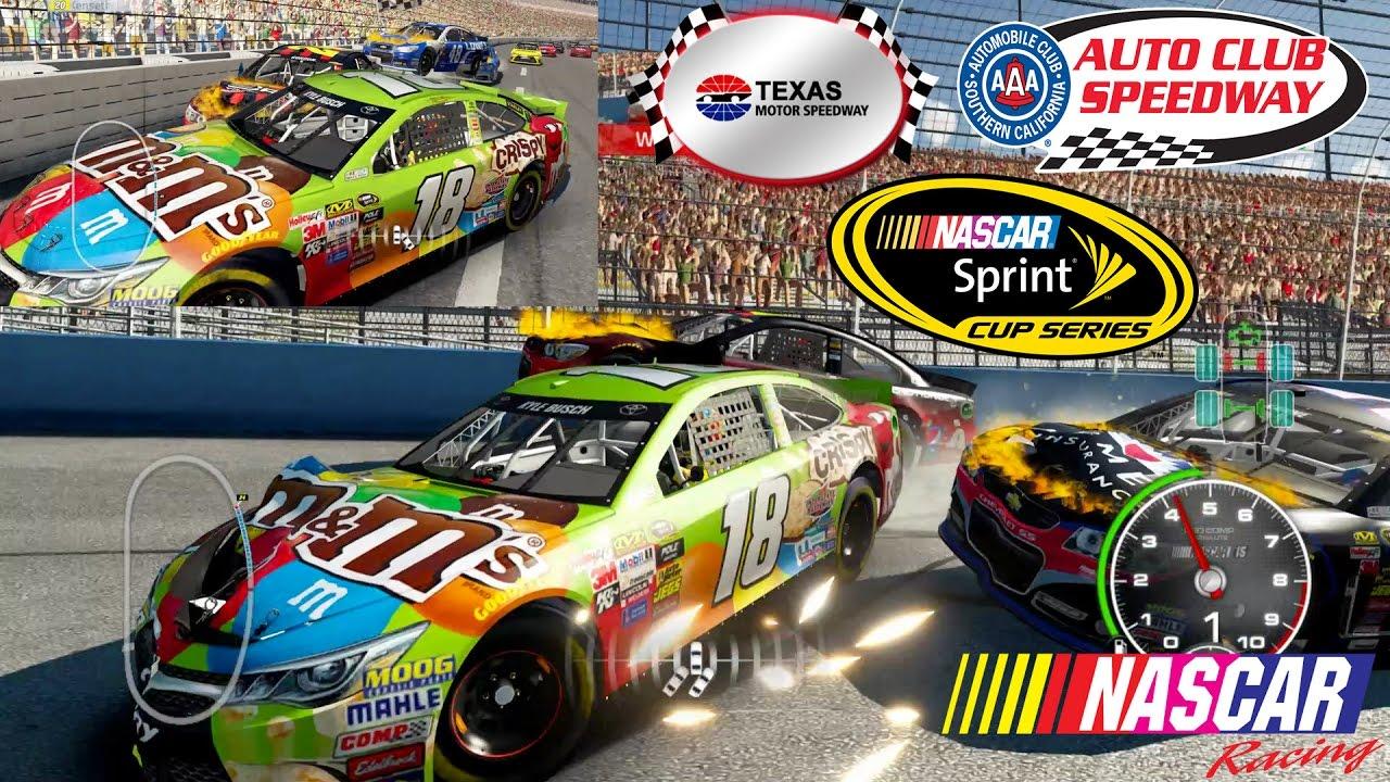 Nascar 39 15 the game texas motor speedway vs auto club for Nascar texas motor speedway 2017
