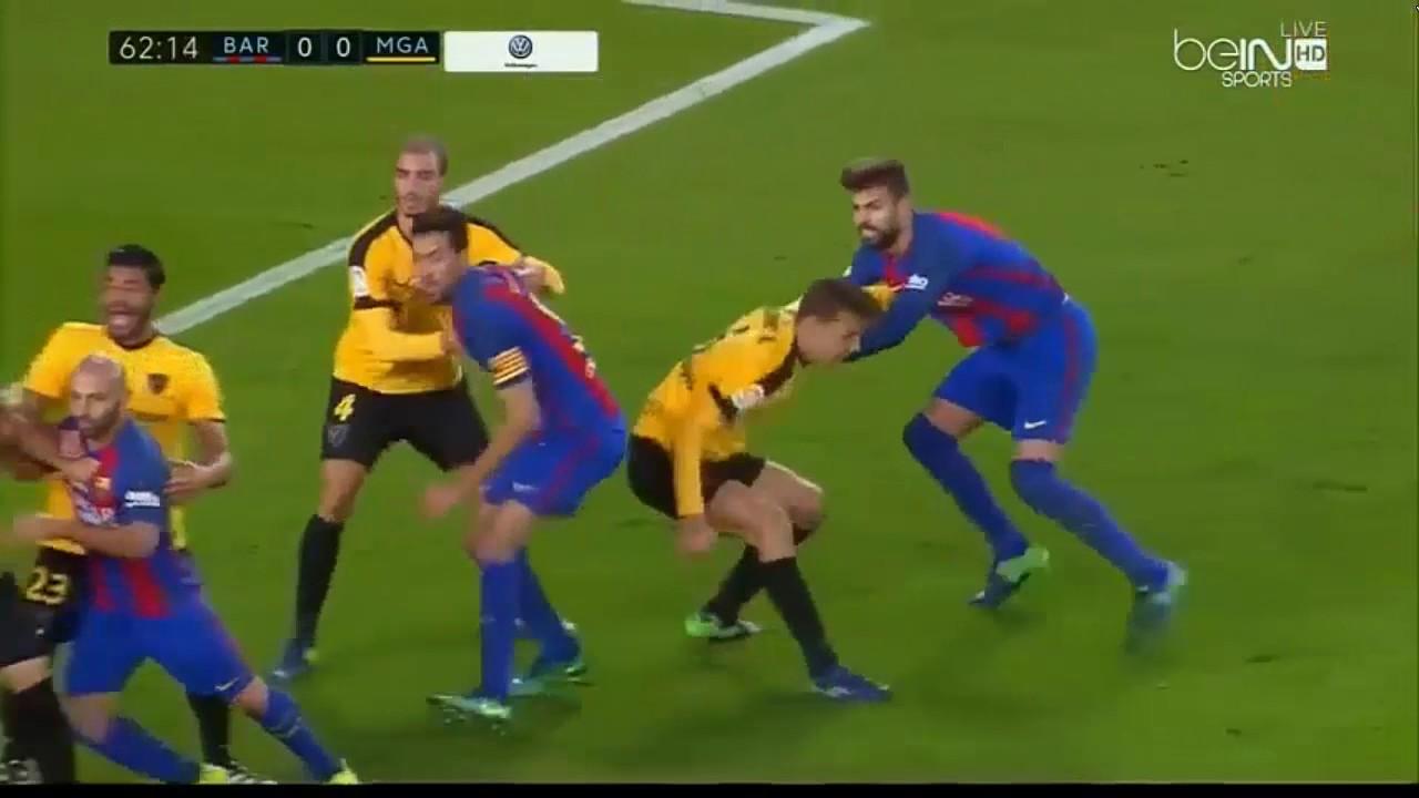 Download Barcelona Vs Malaga 0-0  Highlights - Resumen 19/11/2016