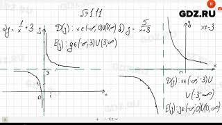 № 1.11- Алгебра 10-11 класс Мордкович