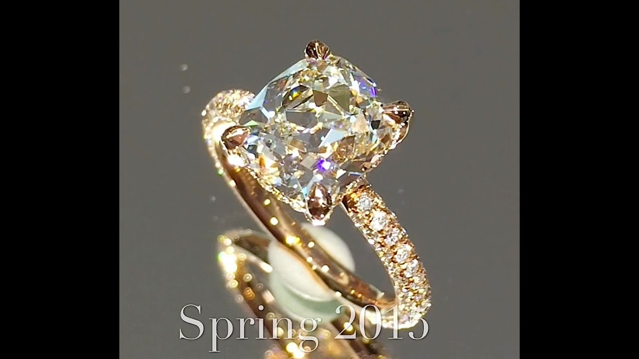 New Amazing Engagement Ring Designs From LaurenB YouTube