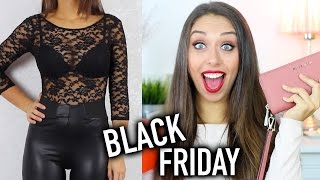 SHOPPING BLACK FRIDAY!!