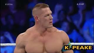 WWE Battleground 2015 Kevin Owens vs John Cena United States Championship Highlights HD
