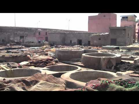 City Overview of Marrakech, Morocco