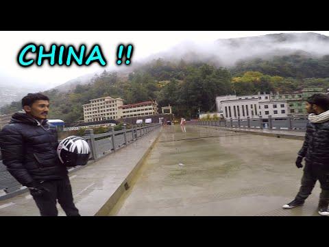 Nepal - China Border Ride (Day 2)   Off Road Ride & Ns 200 Crash   Travel Vlog