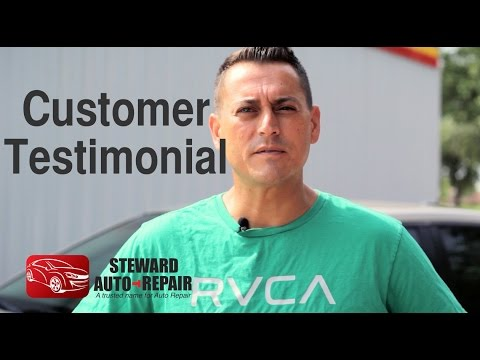 Customer Testimonial - Steward Automotive repair Jacksonville, FL