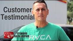 Customer Testimonial - Steward Automotive repair Jacksonville, FL