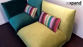 Details of the Basso Modular Sofa