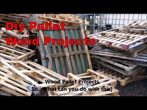 DIY Pallet Wood Woodworking Projects and Ideas