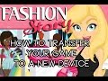 Fashion Story How To Transfer Your Game To A New Device