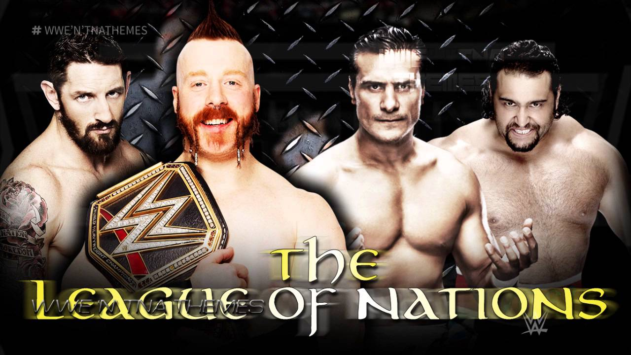 The League Of Nations 3rd New Wwe Theme Song 2015 A League Of Their Own Rec Youtube