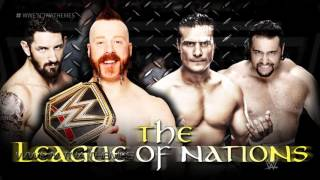 The League of Nations 3rd & NEW WWE Theme Song 2015 -