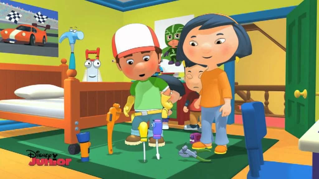 Handy Manny - Bunk Bed - YouTube