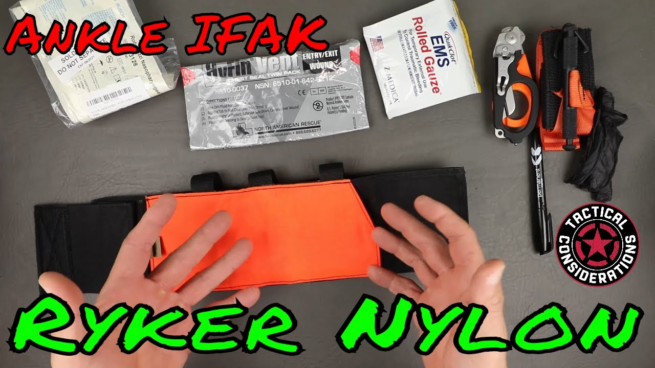 Ryker Ankle Trauma Kit An All Day Solution?