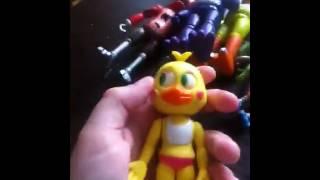 Обзор на игрушки 5 ночей с Фредди!