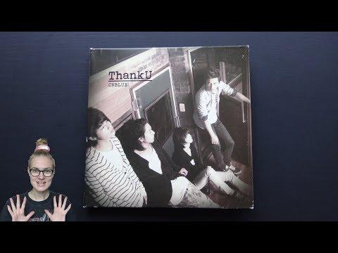 Unboxing CNBLUE 1st Japanese Studio Album ThankU