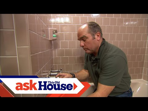 How to Repair a Shower Valve Stem | Ask This Old House