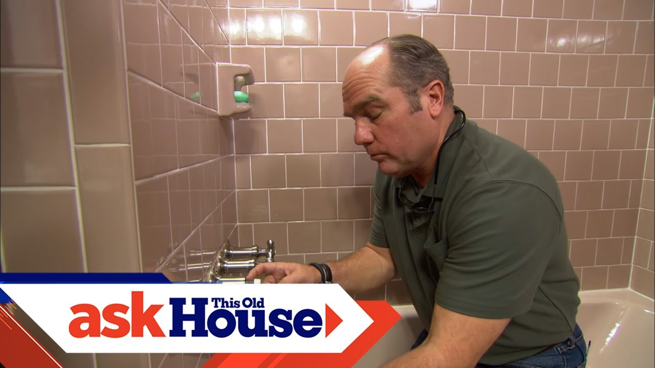 How To Repair A Shower Valve Stem Ask This Old House
