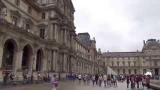 VIAJE EUROPA PARTE 3 (París: Luxemburgo y Louvre)