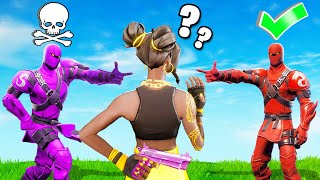 Who's The SECRET MURDERER? (Fortnite Murder Mystery)