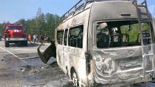 В двух российских регионах произошли крупные дорожные аварии.