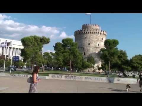 Thessaloniki Griechenland, Saloniki Greece | Full HD