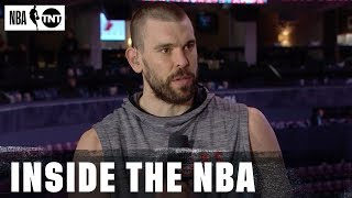 Gambar cover Marc Gasol Joins Inside Crew to Discuss Bounce-Back Game 3 & Defending Giannis| NBA on TNT