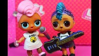 КУКЛЫ ЛОЛ. Панки собирает группу. Мультик про куклы LOL SURPRISE. MC Family