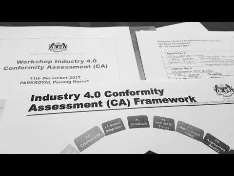 Malaysia Conformity Assessment Workshop on My4.0   Malaysia Fourth Industrial Revolution COE