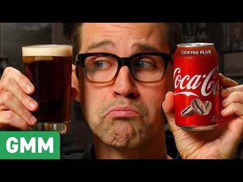 Download Youtube: Coca-Cola Coffee Plus Taste Test