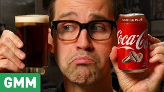 Coca-Cola Coffee Plus Taste Test
