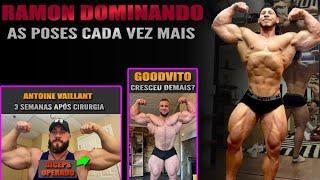 Ramon posa para Horse e Rafael Brandão + Goodvito gigante + Derek Lunsford crescendo + Vaillant