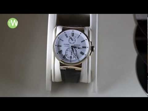ULYSSE NARDIN -- The Marine Chronometer Manufacture