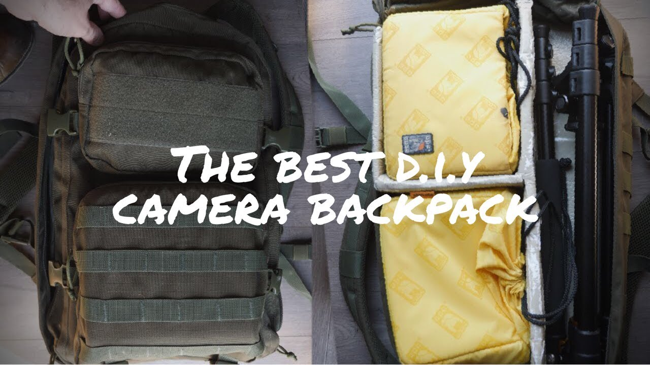 Camera Bag Diy Dslr