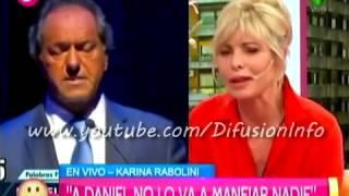 Pamela David y Karina Rabolini: discusión en  Desayuno Americano