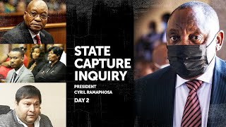 WATCH LIVE   Day 2: President Cyril Ramaphosa returns to the hot seat at Zondo Commission
