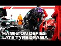 Hamilton Wins Despite Dramatic Late Tyre Issue | 2020 British Grand Prix