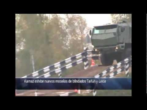 Vehículos Milits Kamaz y Nuevos Modelos de Blindados Taifún y Lince