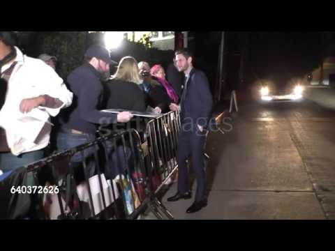 Ben Barnes outside the Pre SAG Awards Party at Chateau Marmont in West Hollywood