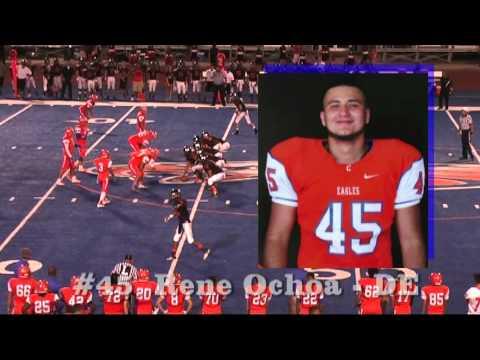 El Paso High Tigers vs Canutillo Eagles  2014 First Quarter   High School Football