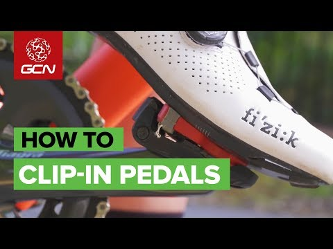 How To Use Clip-In Pedals & Cleats   Clipless Tips For Beginners