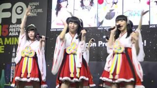 2015年11月29日、AFAシンガポールでの 虹のコンキスタドールライブ映像...