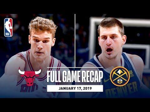 Full Game Recap: Bulls vs Nuggets | Denver Knocks Down 20 Three Pointers