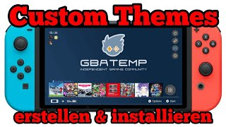 How to install custom theme for nintendo switch switch 7 0 1